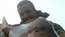 Ψαράς από τη Χίο έσπασε όλα τα ρεκόρ: Ψάρεψε συναγρίδα 15,5 κιλών (εικόνα)