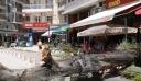 Δέντρο βάρους δύο τόνων έπεσε σε καφέ στο κέντρο της Θεσσαλονίκης (βίντεο)