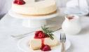 Αυθεντικό New York cheesecake με φράουλες