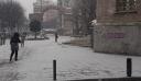 Χιονόπτωση στο κέντρο της Θεσσαλονίκης