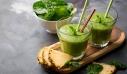 Τροπικό smoothie ενέργειας με σπανάκι και γάλα καρύδας