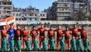 Έπαιξαν ποδόσφαιρο στο Χαλέπι μετά από 5 χρόνια