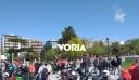 Θεσσαλονίκη: Mοτοπορεία από διανομείς και εργαζόμενους στον επισιτισμό