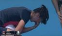 Εγκατέλειψε αγώνα τέννις στην Αυστραλία λόγω βήχα από τις φωτιές