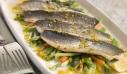 Λαβράκι φιλέτο με αρωματική σάλτσα