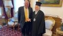 Ευχές για την ονομαστική του εορτή δέχθηκε ο Οικουμενικός Πατριάρχης Βαρθολομαίος