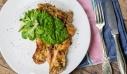 Κοτόπουλο με σάλτσα πέστο