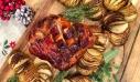 Χοιρινό μπούτι με άρωμα πορτοκαλιού και πατάτες