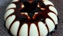 Πανακότα με σιρόπι σοκολάτας..