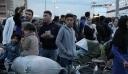 Αποβιβάστηκαν στην Ελευσίνα και μεταφέρονται σε δομές 389 μετανάστες από τη Σύμη