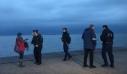 Σε ισχύ η απαγόρευση κυκλοφορίας: Έλεγχοι σε πεζούς στην παραλία Θεσσαλονίκης (βίντεο)