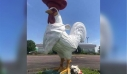 ΗΠΑ: Αμοιβή $1000 προσφέρει εστιάτορας για να πάρει πίσω ένα… τεράστιο άγαλμα κόκορα