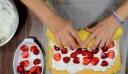 Ρολό φράουλας-Strawberry role !!!