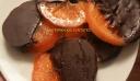 Ροδέλες πορτοκαλιού με σοκολάτα !!!