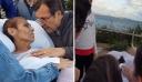 Ηλικιωμένη ετοιμοθάνατη με καρκίνο ζήτησε να δει για τελευταία φορά το ηλιοβασίλεμα αγκαλιά με το σύζυγό της