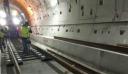 Μπήκαν οι πρώτες ράγες του μετρό Θεσσαλονίκης στην επέκταση προς Καλαμαριά (εικόνες)