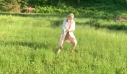 Πώς είναι να τρέχεις πάνω σε ένα πλωτό γρασίδι