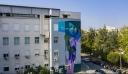 Συγκινητική τοιχογραφία σε νοσοκομείο της Νίκαιας για τους ανθρώπους της πρώτης γραμμής: «Σας ευχαριστούμε»