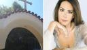 Ανείπωτη θλίψη στην κηδεία της Ρίκας Βαγιάνη. Τραγικές φιγούρες ο σύζυγός της και ο 13χρονος γιος της, Οδυσσέας [Εικόνες]