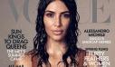 Η Kim Kardashian με wet look και nude ρούχα φωτογραφίζεται για την Vogue