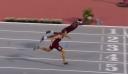 ΗΠΑ: «Βούτηξε» στην γραμμή του τερματισμού για να πάρει το χρυσό [βίντεο]