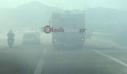 Κατακλύστηκε από τους καπνούς η εθνική οδός στα Χανιά μετά από μεγάλη φωτιά