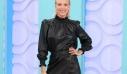 Το δερμάτινο φόρεμα της Βίκυς Καγιά στην πρεμιέρα του Shopping Star μάς βάζει σε σκέψεις. No likey