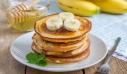 Pancakes με μπανάνα
