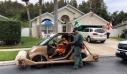 Το πιο περίεργο όχημα που σταμάτησε η αστυνομία