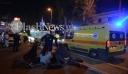 Μετωπική σύγκρουση ΙΧ με μοτοσικλέτα στα Χανιά