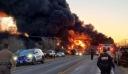 ΗΠΑ: Μεγάλη έκρηξη από τη σύγκρουση τρένου με νταλίκα στο Τέξας