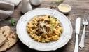 Ριζότο με ελιές και μανιτάρια