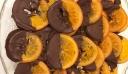 Πορτοκάλια καραμελωμένα με σοκολάτα!!!