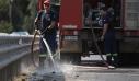Ενισχύονται οι δυνάμεις στην πυρκαγιά στην αρχαία Ολυμπία