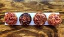 Αλμυρά ντόνατ αβγών με μπέικον και κρέμα τυριών