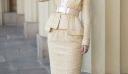 Η Keira Knightley με ταγιέρ Chanel στο παλάτι του Buckingham