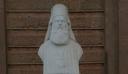Βεβήλωσαν το άγαλμα του εθνομάρτυρα Σμύρνης Χρυσόστομου στη Λέσβο (εικόνα)