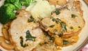 Χοιρινά μπριζολάκια με σάλτσα μήλου