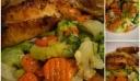 Κοτόπουλο ζουμερό ψητό με λαχανικά !!!!