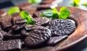 Μπισκότα σοκολάτας με μέντα χωρίς ψήσιμο
