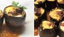 Μελιτζανοσταμνάκια γεμιστά με μοσχάρι και γκούντα