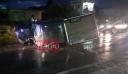 Κρήτη: Αγροτικό καρφώθηκε σε βενζινάδικο – Τέσσερις τραυματίες