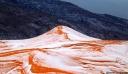 Viral σε όλο τον κόσμο έγινε το χιόνι στη Σαχάρα [φωτο]