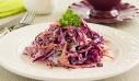 Σαλάτα με κόκκινο λάχανο και καρότο