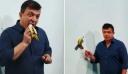 Έπος: Έφαγαν τη μπανάνα-έργο τέχνης αξίας 120.000 δολαρίων
