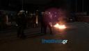 Επεισόδια και στη Θεσσαλονίκη, κουκουλοφόροι πέταξαν μολότοφ