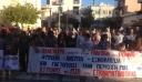 Συγκέντρωση κατά της εγκληματικότητας από το ΠΑΜΕ στην κεντρική πλατεία Μενιδίου