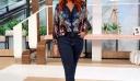 Η Σίσσυ Χρηστίδου φόρεσε το πιο άνετο work outfit! Το jean που θα φοράς όλο τον χρόνο
