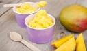 Σπιτικό frozen yogurt με γεύση μάνγκο