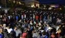Λέσβος: Συνελήφθησαν οι 120 μετανάστες που είχαν καταλάβει την πλατεία Σαπφούς